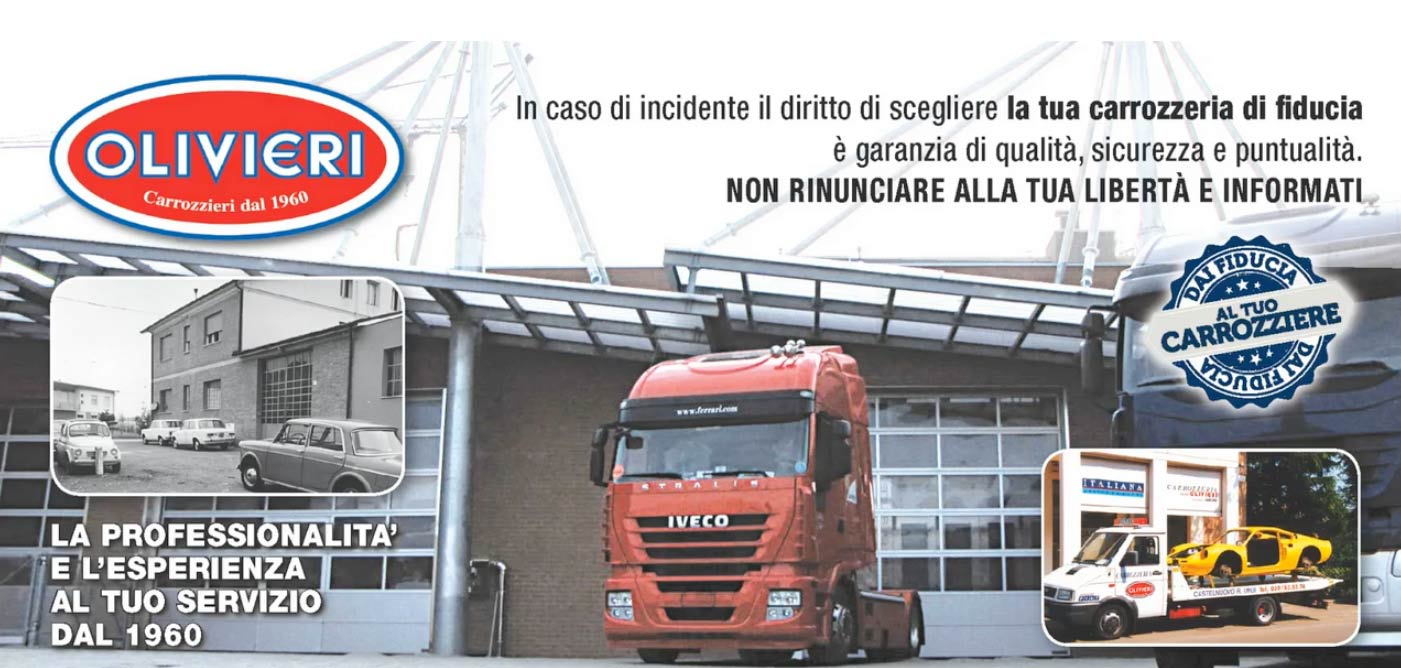 spot pubblicitario carrozzeria olivieri