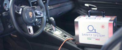 sanificazione interni auto con ozono modena